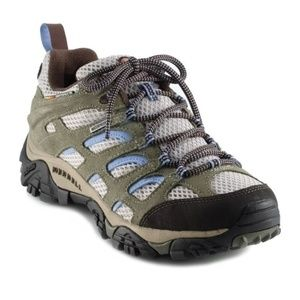 MERRELL Moab Waterproof Hiking Shoes - Women's 9.5